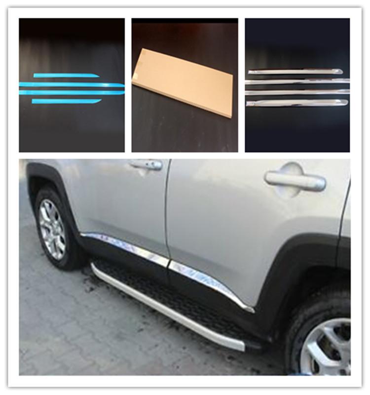 Otomotiv parçaları ve aksesuarları araba pencere kapağı üçgen pencere Trim araba krom pencere döşeme Toyota Corolla için