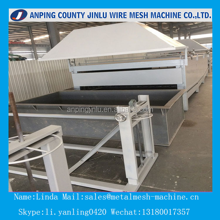 China Powder Coating Welded Wire Mesh Machine Line