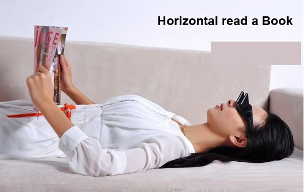 Prism Glasses Horizontal Glasses For Lying Reading And Watching Tv ...