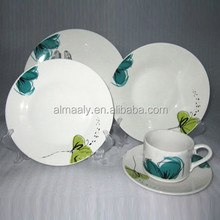 wholesale hotel restaurant wedding custom white luxury royal bone china crockery tableaware ceramic porcelain