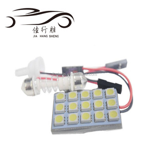 Festoon Car Dome Light Indoor Lights LED Car Dome Reading Lamp LED 15SMD 1210 white