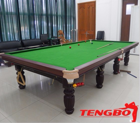 Tb new style soild wood snooker pool table for sale sri for 12ft snooker table for sale