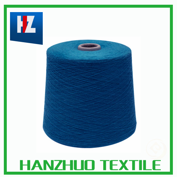 spun silk cotton wool viscoes nylon yarn for gloves