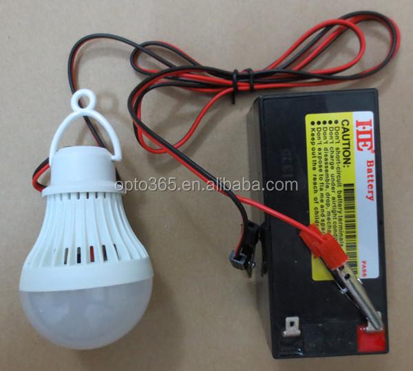12v3w 5w Led Bulb Light Battery Light Night Market Stall Farms ...