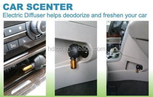 mini aroma smoke air refresher for car