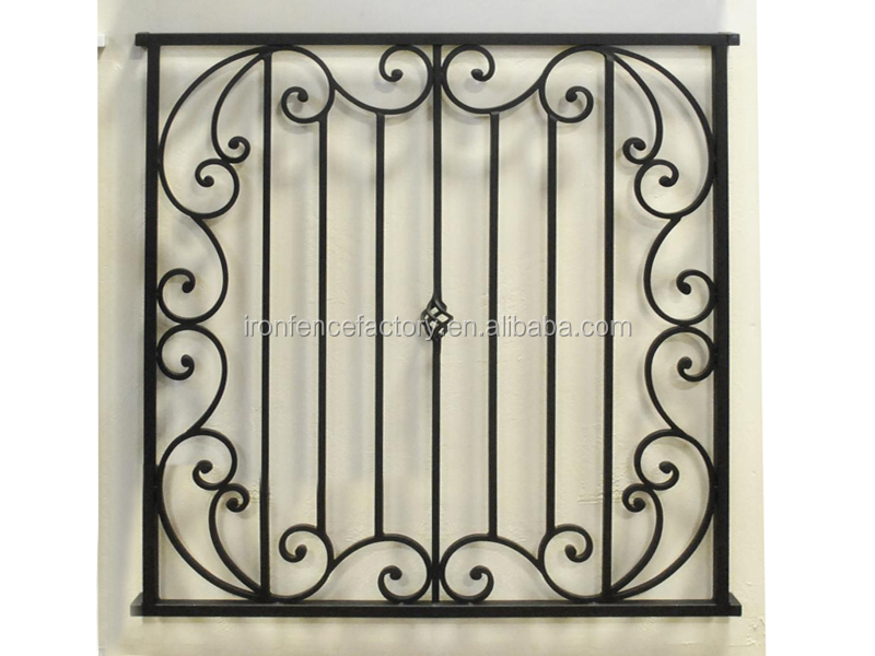 Simple Iron Window Grills Design For House Window/modern Wrought ...