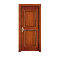 China Alibaba wholesale high quality plain solid wood doors