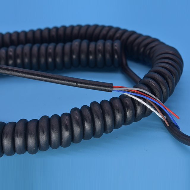Spiral Coiled Wire Cable, Spiral Coiled Wire Cable Suppliers and ...