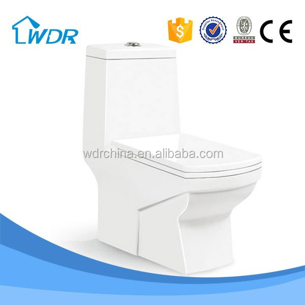 China factory water saving solid surface ceramic power flush toilets