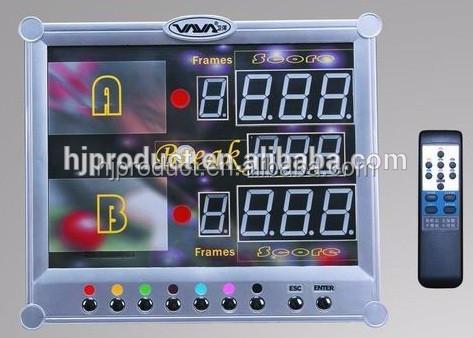 Electronic Pool Scoreboard Snooker Scoreboard Buy Pool