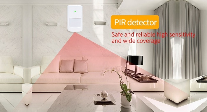 New design wireless WIFI GSM 3G home house anti theft alarm systems