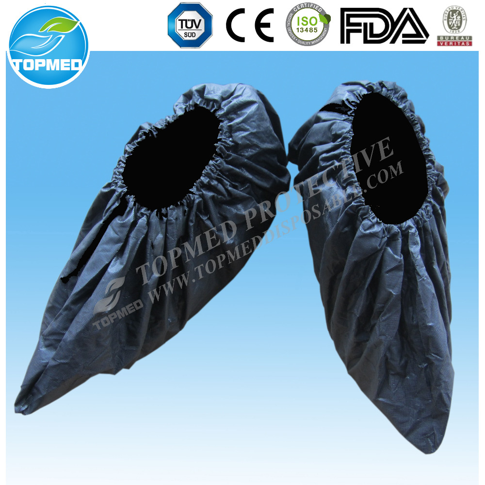 Disposable shoe covers for winter,black disposable shoe covers for laboratory