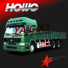 Howo 6*4 cargo truck sino better than ford pickup