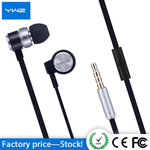 Hot sell magnetic earbud stereo metallic style headset earpiece mp3 player earphone for sporting