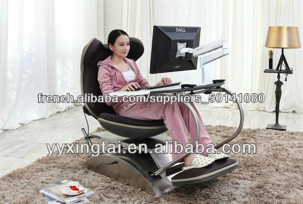 Digne bureau d ordinateur pc grenouille autres meubles en bois