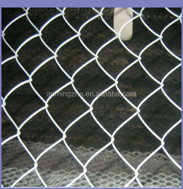 High Quality Stainless/Galvanized Iron Chain Link Fence/Chain Link In Iron Wire Mesh