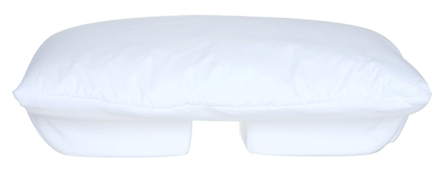 Better Sleep Pillow - Memory Foam 5 Inch Hight With Cream Velour Cover - Tempur Neck Pillow - Sleeping On Arm Under Pillow Best For Side And Stomach Sleepers - Get Great Neck Support
