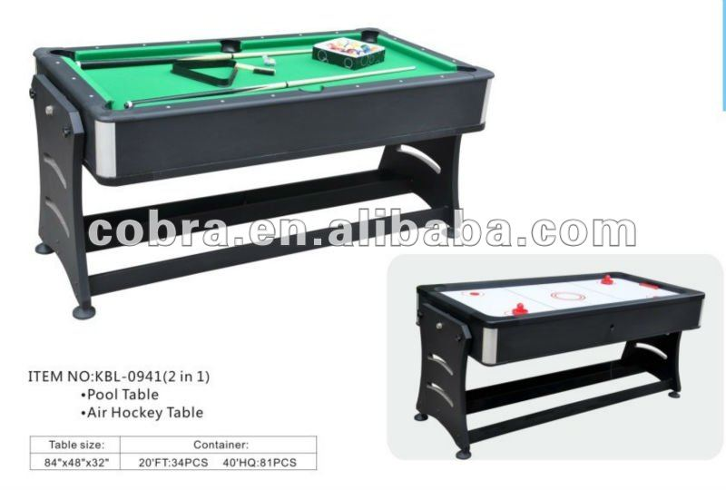 Combination Pool Game Table, Combination Pool Game Table Suppliers And  Manufacturers At Alibaba.com