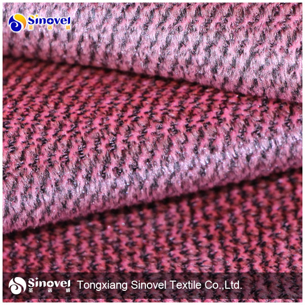 Sofa fabric/warp knitted velvet upholstery sofa fabric