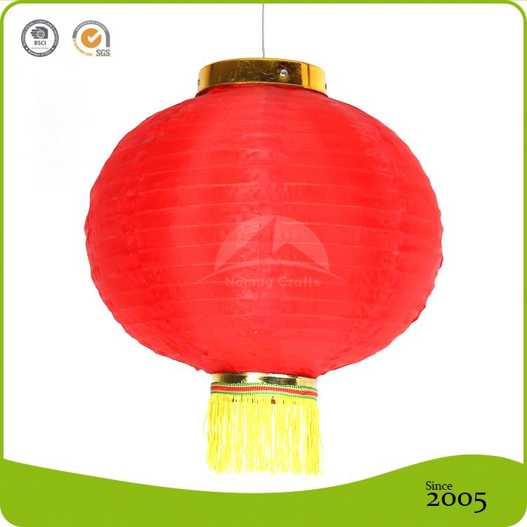 Event and Party supplies Crafts tassel decorative Chinese red Lantern