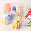 Soft Clear PVC Cosmetic Zipper Bag/Beauty Cosmetic Case