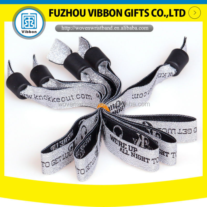 Music festival ticket one direction fashion bracelets for China