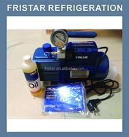 value brand single stage new refrigerant series vacuum pump V-i120SV 1.8CFM