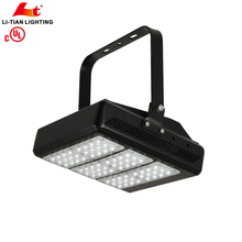 UL DLC Outdoor Wall Mounted Lighting high mast light LED floodlight 150w high power led flood light