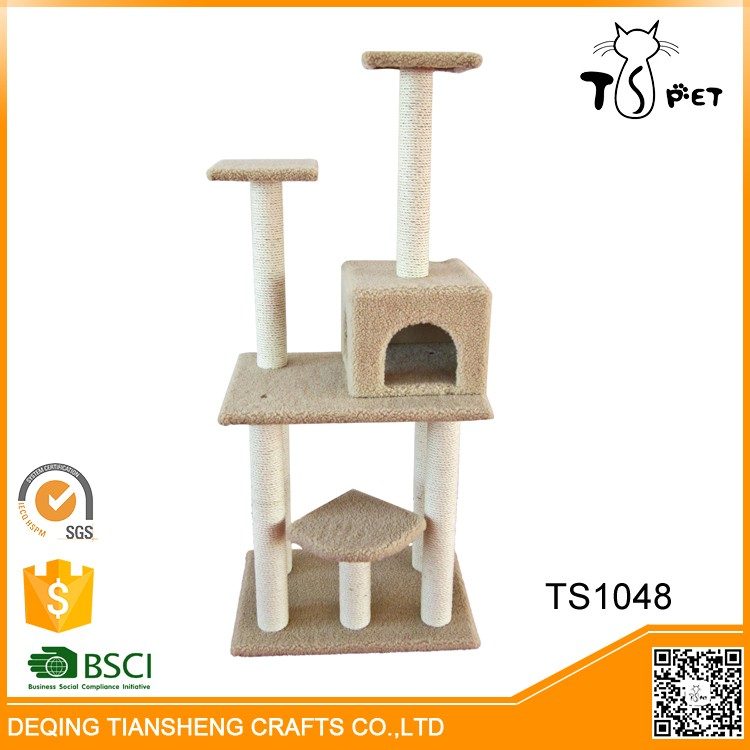 Large Luxury Indoor pet house cat tree outdoor