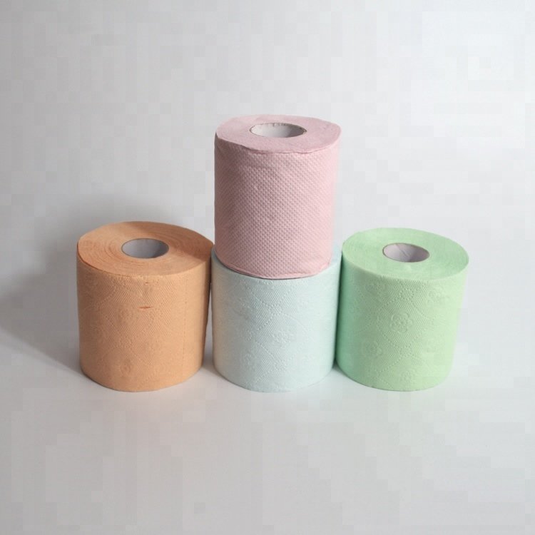 Colored Toilet Paper Roll Tissue