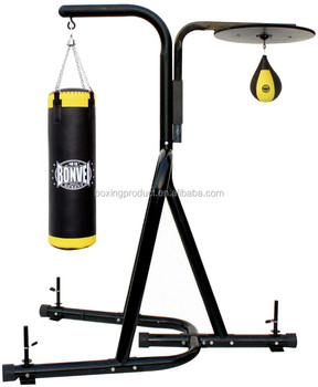 1f7cdc2553e Punching Bag Stand With Speed Bag