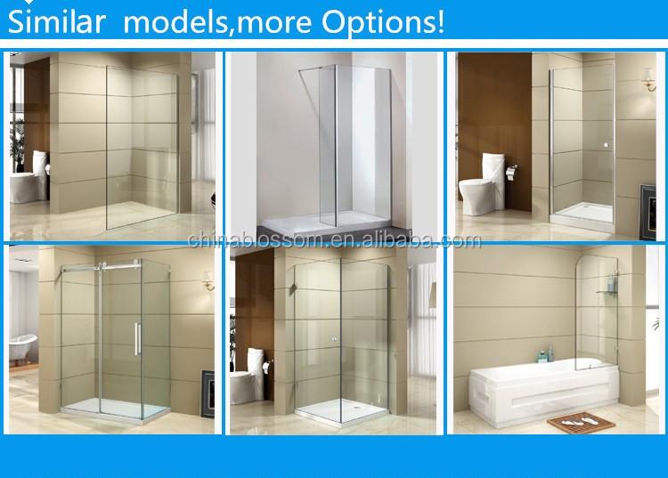 Prefabbricata bagno cabina doccia bagno doccia in vetro portatile di