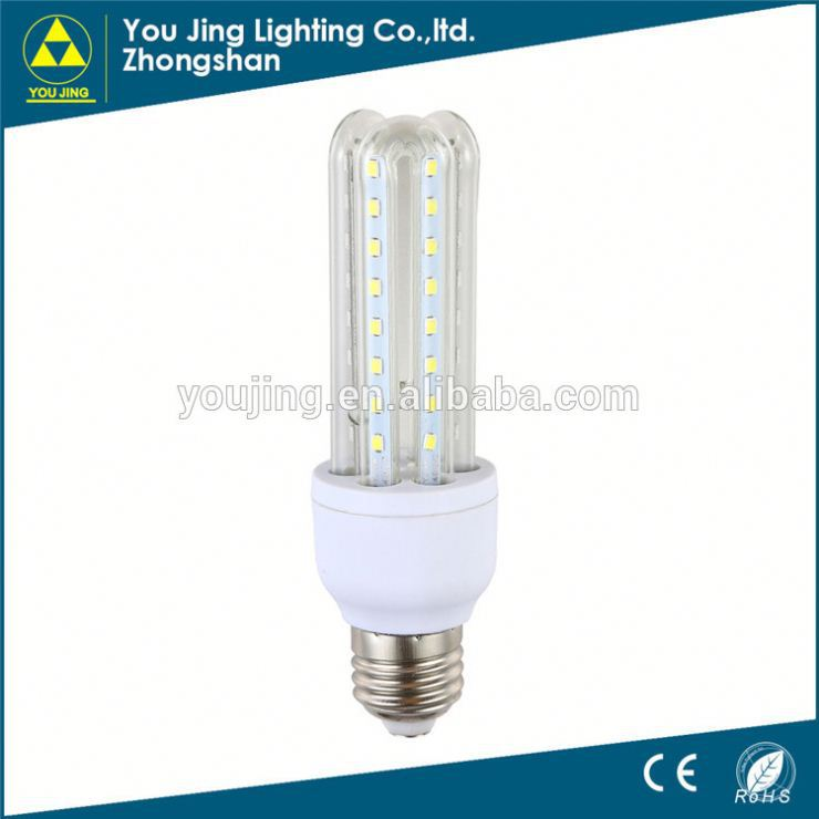 Zhongshan product cfl light bulb t6 lamp