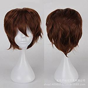 Coolsky Long Wig Light Brown Wig Halloween Cosplay Party Costume Wig for Women (Light Brown)