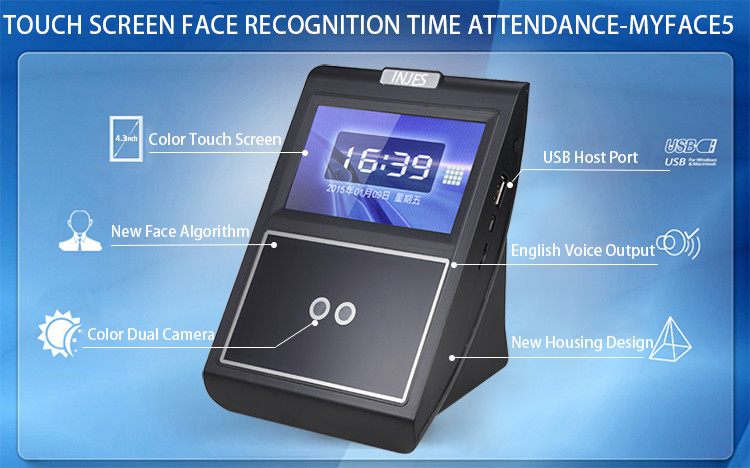 Free Software Biometric Face Recognition Time Attendance
