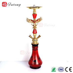 Yiwu Erliao Cheap Price Medium Size Portable Nargile Shisha Hookah Tobacco