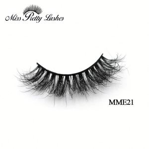 Stock Wholesale Supersoft Imitated Siberial 100% Real Mink Eyelash