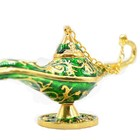 High quality qifu product metal genie aladdin lamp for collectibles