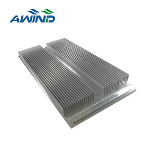 Aluminum waterproof heat sink with nature anodized finish