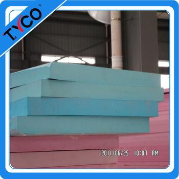 Polystyrene foam blocks building wall insulation board for Foam block wall construction