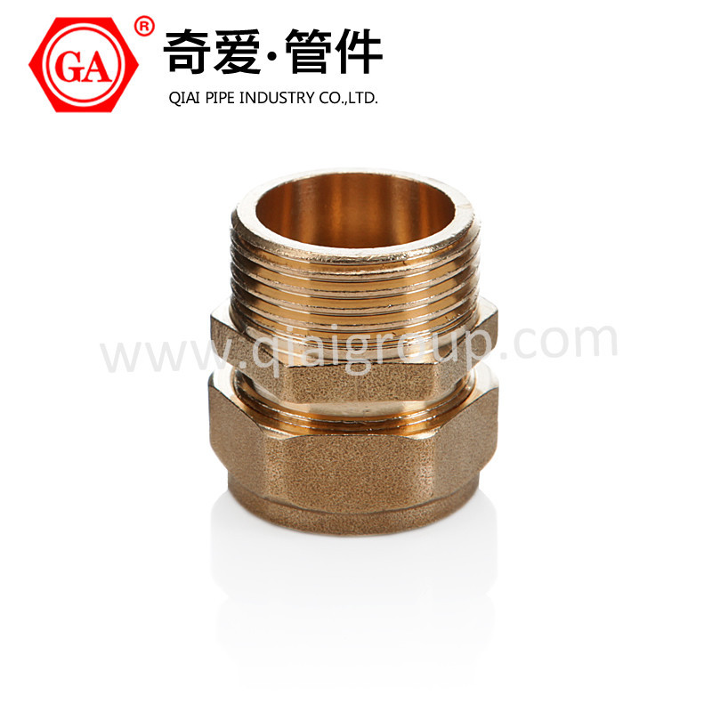 QIAI/GA Brass Male Adaptor for pex-al-pex pipe