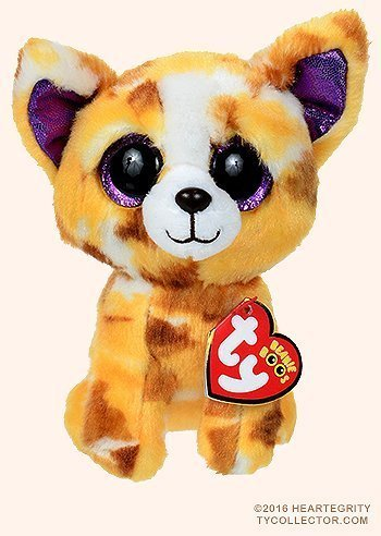 5d4be9d4b68 Get Quotations · New TY Beanie Boos Cute Pablo the Chihuahua Plush Toys 6   15cm  Ty Plush