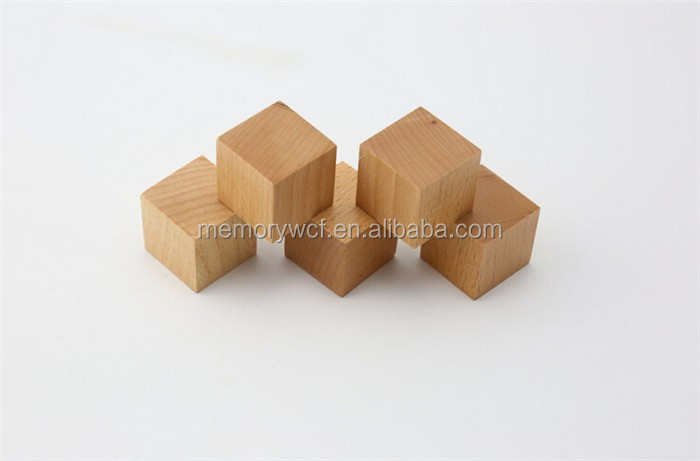 Super Fun Multifunctional Unfinished Wooden Cubes,DIY Toy Wooden Cube Blocks Amazing Ideas