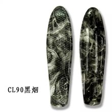 Approved OEM Graphic new plastic skateboards 2012 With Water Transfer Printing