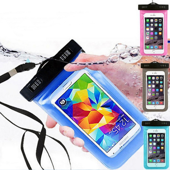 XRJ Big Promotion Wholesale 6 inch Cell Phone Water Proof Dry Bag Pouch Swimming Mobile Phone Waterproof Bag with Lanyard
