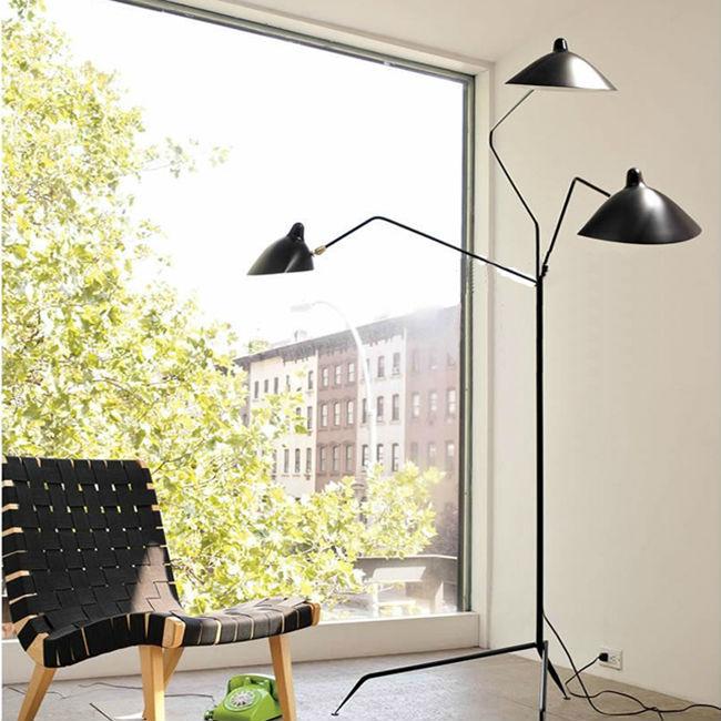 3 Led Floor Lamp/replica Arne Jacobsen Aj Floor Lamping