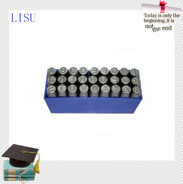 Hot sale new product reverse letter punches