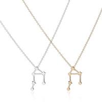 2016 Latest Design Gold Libra Zodiac 14k gold necklace body chain jewelry for women