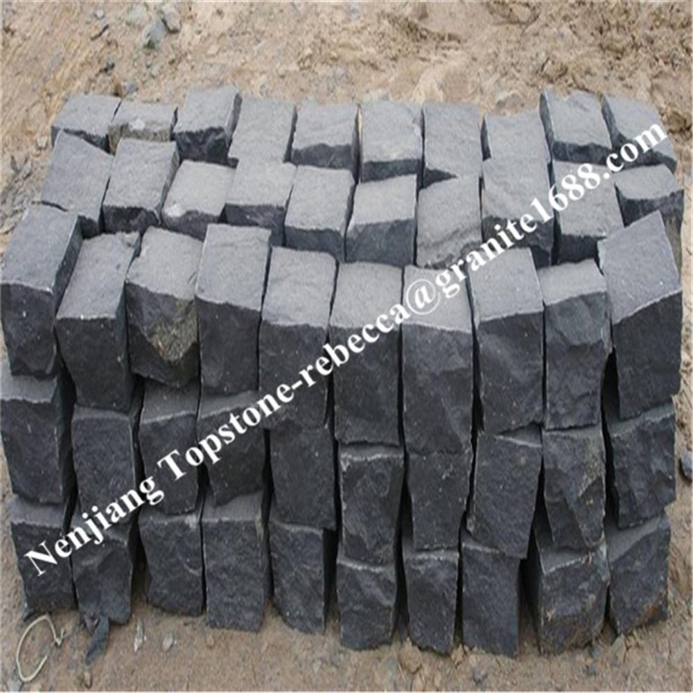 Basalt Stones Product : Pavimentação de pedra basalto lava