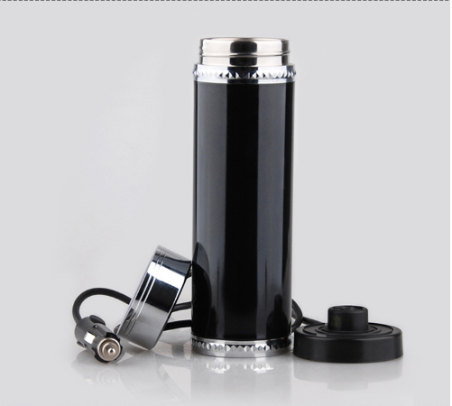 12V 350ml Car Travel Auto Stainless Steel Heating Electric Thermoses Bottle Coffee Tea Cup My Boiling Water Bottle Vacuum Flasks